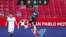 Así fue el gol de Vinicius con el que Real Madrid venció a Sevilla