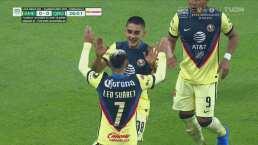 ¡Golazo del América! Santiago Naveda doblega a Gil Alcalá con el 1-0