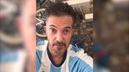 """""""Arriba los corazones"""": Fernando del Solar reaparece sonriente en una transmisión en vivo"""