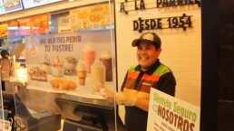 Con su sonrisa de pillo, así fue como el niño del Oxxo grabó un comercial para una cadena de hamburguesas