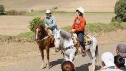 El Vítor vs. Ferdinando Valencia en carrera de caballos