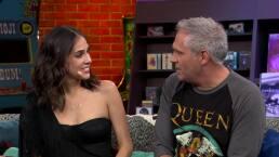 DGeneraciones: Sandra Echeverría imita la voz de Shakira, ¡descubre cómo lo hace!