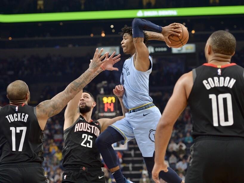 Memphis Grizzlies 121-110 Houston Rockets