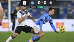 'Chucky' y Napoli se complican la vida en la Copa Italia