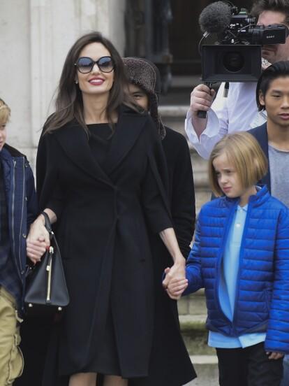 Vivienne Marcheline, hija menor de Angelina Jolie y Brad Pitt, se encuentra en el ojo del huracán por su transformación física