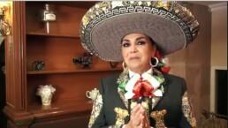 Aida Cuevas lista para celebrar la Fiesta Mexicana 2017