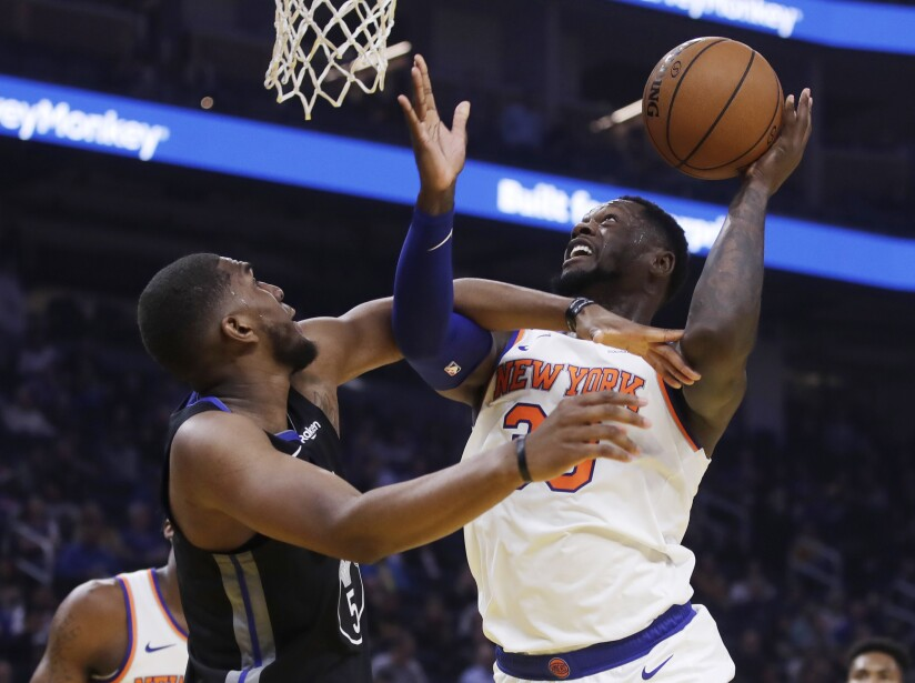 Golden State Warriors 122-124 New York Knicks