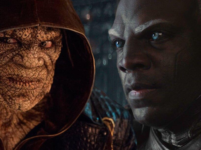 Adewale Akinnuoye Agbaje como Algrim en Thor y Killer Croc en Suicide Squad.