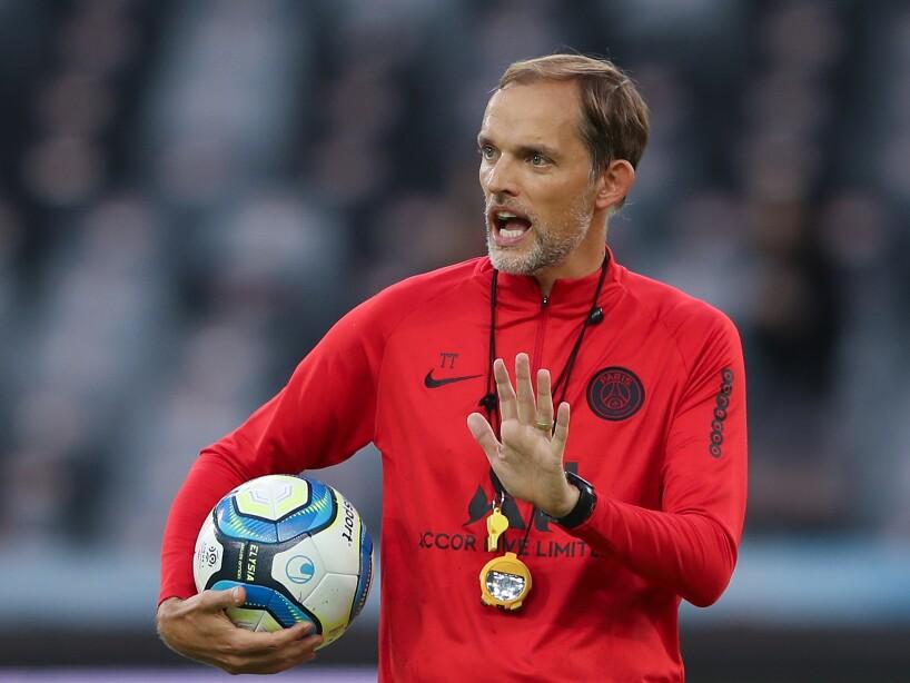 Paris Saint-Germain v Stade Rennais FC - Pre-game Training