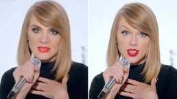 Erika Buenfil demuestra que podría ser la gemela perdida de Taylor Swift en divertido video