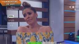 """""""Vengo bien cansada"""": Galilea Montijo revela porqué llega desvelada a las grabaciones de """"Hoy"""""""