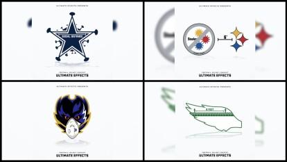 Si la NFL tuviera que adaptar sus logos al COVID-19 para 'protegerse' lucirían de esta manera.