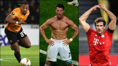 Más allá del crecimiento físico, estos futbolistas no solo se desarrollaron, sino que conformaron un cuerpo atlético y musculoso, muy lejos de lo que fueron en algún momento.
