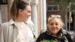 Belinda recuerda a su abuelita y se despide de ella con tiernos videos