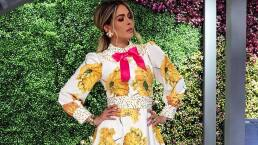 Flores, tul y mucho estilo en los looks de Galilea Montijo