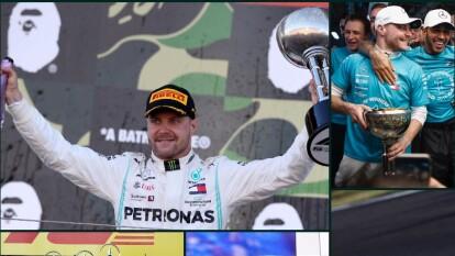 Valtteri Botas inició como tercero, lo que fue clave para que se llevara la victoria en el Grand Prix japonés.