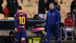 ¿Sigue Messi tras el verano? Koeman no es muy optimista