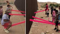 Estos arquitectos construyeron un 'sube y baja' entre la frontera de México y EU