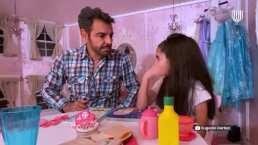 Eugenio Derbez le enseña a Aitana imitar a varios de sus personajes y el resultado es tiernísimo