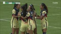 ¡20 segundos! Betzy Cuevas marca el primer gol para América