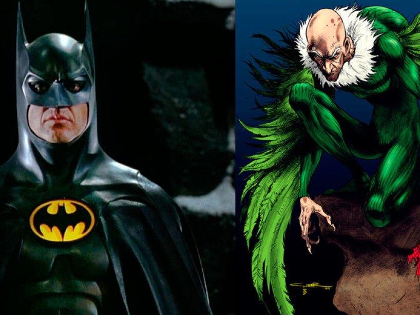Michael Keaton como Batman y The Vulture próximamente en Spider Man Homecoming.