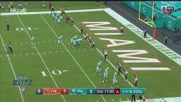 Le arruinaron la jugada sorpresa y el touchdown a los Dolphins