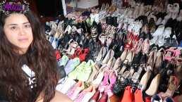 Gomita muestra su colección de 220 zapatos y confiesa que es una compradora compulsiva