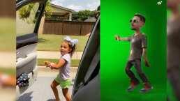 Niñita se baja con su flow de un carro en movimiento y baila 'In Da Getto' de J Balvin y Skrillex