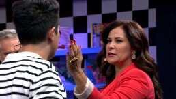 Arleth Terán muestra su técnica para dar una buena cachetada de telenovela