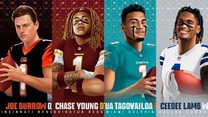 Para no extrañar tanto el futbol americano y sentir cerca la próxima temporada, con estas fotos te darás una idea de cómo eran los jugadores en su etapa colegial y cómo se apreciarán ahora en la NFL.