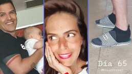 Claudia Álvarez exhibe como su esposo, Billy Rovzar, perdió el galmour con su look de cuarentena