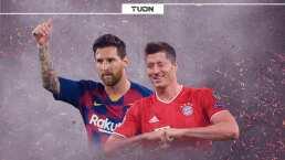 Messi y Lewandowski impusieron marcas en Champions League