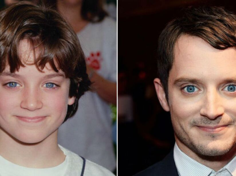 10. Elijah Wood (35 años): ¡Traga años! El actor de El Señor de los Anillos no ha envejecido nada, ¡idéntico!