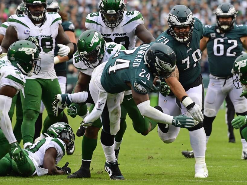 New York Jets vPhiladelphia Eagles
