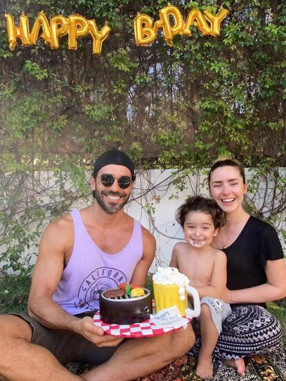 Ariande Díaz organizó una intíma fiesta familiar para celebrar el cumpleaños de Marcus Ornellas. ¡Mira todas las fotografías!