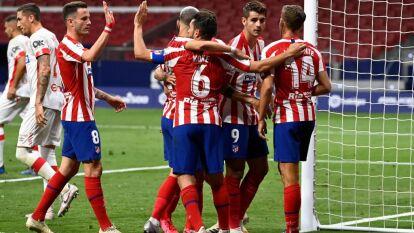 Con/Sin Héctor Herrera en la cancha, el Atlético del Cholo despachó al Mallorca | Los de Simeone sacaron tres valiosos puntos del Metropolitano; Mallorca continúa en el fondo de la general.