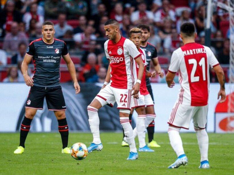 La victoria del Ajax sobre el Emmen, en imágenes