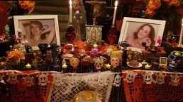 VIDEO- Así luce la conmovedora ofrenda en honor a Edith González