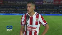 Antuna asegura que regresó el gol y la tranquilidad para Chivas