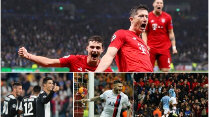 Bayern goleó 7-2 en su visita a Tottenham. Shakhtar, PSG, Estrella Roja, Manchester City, Juventus y Atlético de Madrid también ganaron.