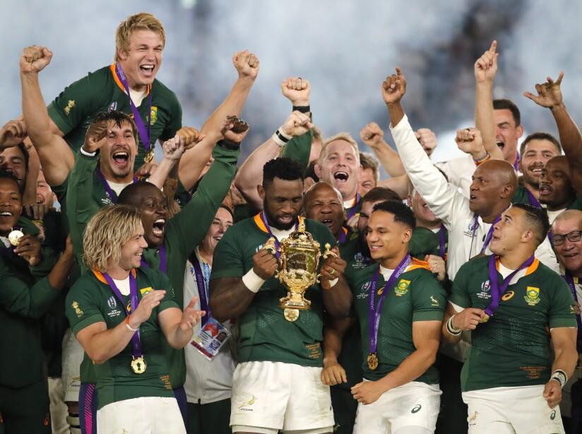 Los mundiales de 1995, 2007 y 2019 han sido para los Springboks.
