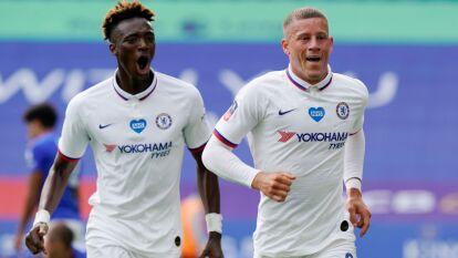 Con gol de Ross Barkley el Chelsea derrota al Leicester City 0-1 y avanza a las semifinales de la FA Cup.