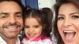 Con estos emotivos videos, Eugenio Derbez y Alessandra Rosaldo celebraron los seis años de su hija Aitana