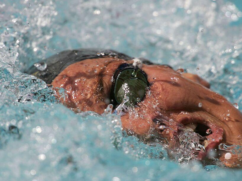 Womens 400m Free Heats