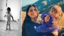 Kailani le enseña un nuevo juego a su mamá y Aislinn Derbez admite que es su favorito