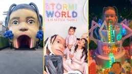 """""""El Mundo de Stormi"""": Kylie Jenner celebró el cumpleaños de su hija con excéntrica fiesta"""