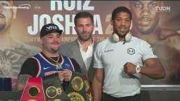 Andy Ruiz se muestra confiado para enfrentar a Joshua