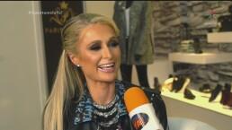 Paris Hilton prueba dulces mexicanos