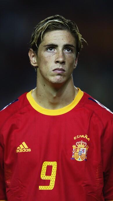 Fernando Torres of Spain