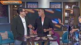 Jorge 'El Burro' Van Rankin se asusta con la predicción del vidente de 'Hoy'